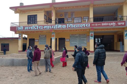 MAP Activities in Palpa and Kanchanpur district