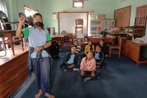Art workshop at Kanchanpur: MAP