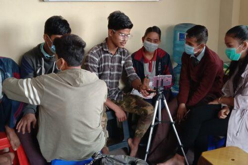 भिडियोग्राफी कार्यशालामा कथाको छनौट